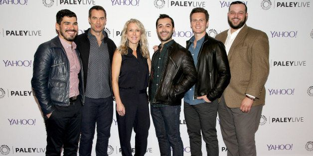 BEVERLY HILLS, CA - FEBRUARY 25:  (L-R) Actors Raul Castillo, Murray Bartlett, Lauren Weedman, Frankie J. Alvarez, Jonathan G