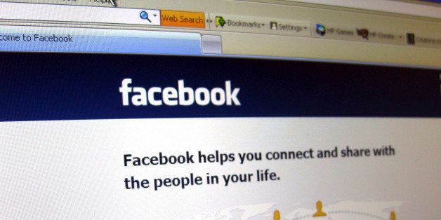This June 20, 2012 photo shows a Facebook login page on a computer screen in Oakland, N.J. Facebook is expected to report the