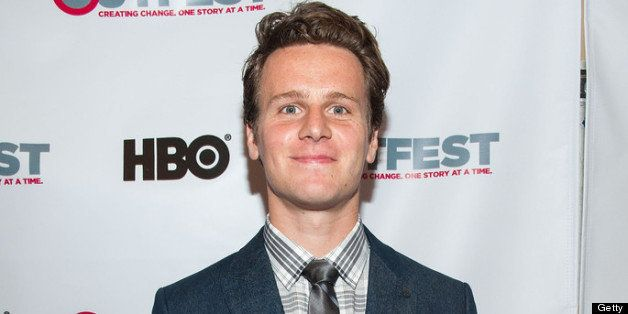 LOS ANGELES, CA - JULY 11: Jonathan Groff attends the 2013 Outfest Opening Night Gala Of 'C.O.G.' - Red Carpet at Orpheum The
