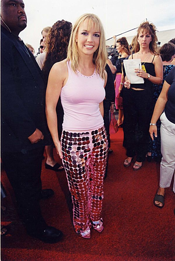 Mirror ball pants were a thing in the '90s.