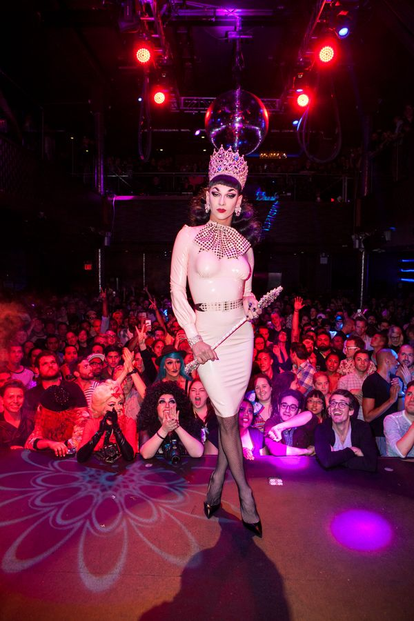 NEW YORK, NY - JUNE 01:  Winner of 'RuPaul's Drag Race' Season 7, Violet Chachki at Stage48 on June 1, 2015 in New York City.