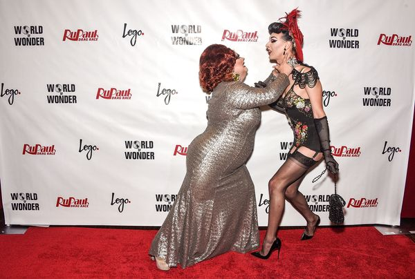 NEW YORK, NY - JUNE 01:  Ginger Minj (L) and Violet Chachki attend 'RuPaul's Drag Race' Season 7 Finale And Coronation on Jun