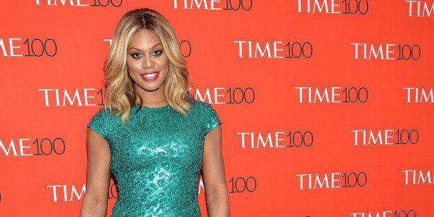 Actress Laverne Cox attends the TIME 100 Gala, celebrating the 100 most influential people in the world,...