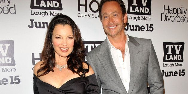 NEW YORK, NY - JUNE 13:  Fran Drescher and Peter Marc Jacobson attend the TV Land 'Hot In Cleveland' and 'Happily Divorced' p