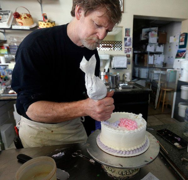 "This baker violated civil laws, got sued and ended up in court, just so he wouldn't have to <a href=""https://www.huffpost.com"