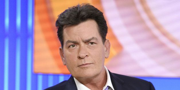 """Actor Charlie Sheen appears during an interview, Tuesday, Nov. 17, 2015 on NBC's """"Today"""" in New York. In the interview, the 5"""
