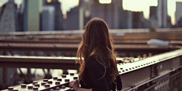 new york, america, sogno, ragazza, orizzonti, futuro