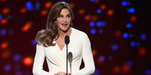 FILE - In this July 15, 2015 file photo, Caitlyn Jenner accepts the Arthur Ashe award for courage at the ESPY Awards at the M