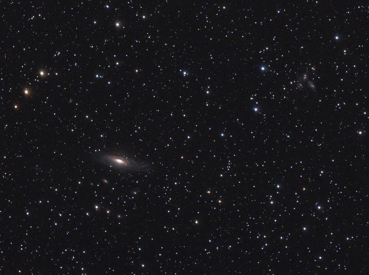 ngc 7331 spiral galaxy in...