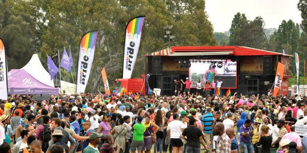 The annual gay pride festival at Zoo Lake