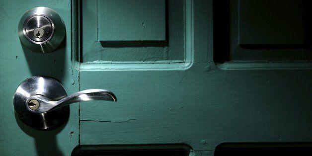A photo of door locks
