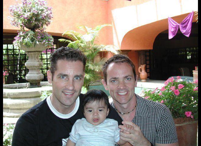 Ken, Jackson and Jeffrey in Antigua, Guatemala.