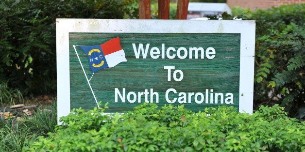 Welcome to North Carolina Sign