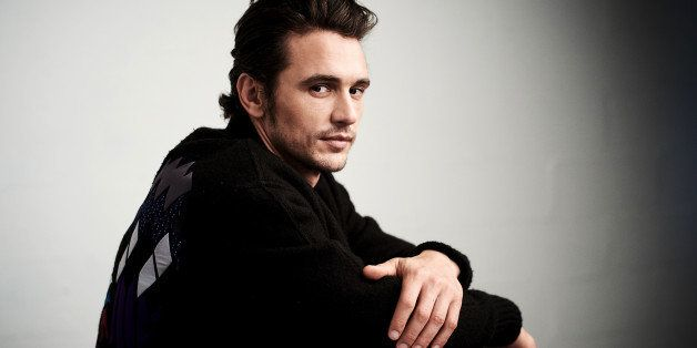 NEW YORK, NY - APRIL 16:  Actor James Franco from 'The Fixer' poses at the Tribeca Film Festival Getty Images Studio on April