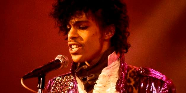 UNITED STATES - SEPTEMBER 13:  RITZ CLUB  Photo of PRINCE, Prince performing on stage - Purple Rain Tour  (Photo by Ebet Robe