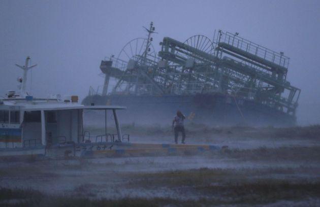 초강력 태풍 '짜미'가 일본 수도권을 향하고
