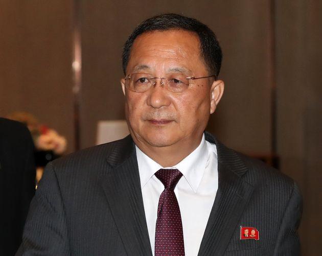 리용호 북한 외무상이