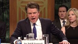 Matt Damon Impersonates Brett Kavanaugh In Instantly Iconic 'SNL'