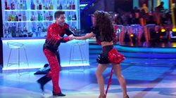 'Strictly' Pro Janette Manrara Powers Through Wardrobe Malfunction In Second Live