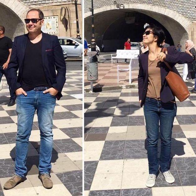Sihem et Nacym Baghli concepteurs du pont