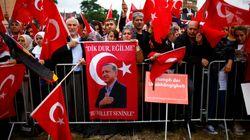 Erdogans Securitys übernehmen in Köln Funktion der Polizei – Aufnahmen zeigen den