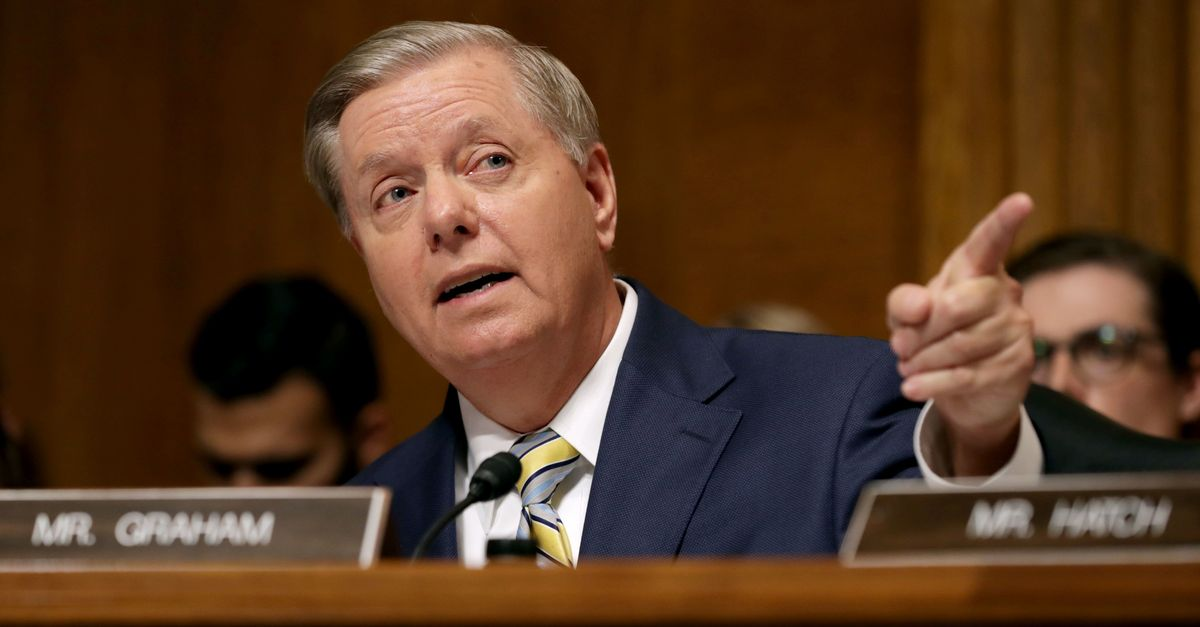 Lindsey Graham Wants To Investigate Whether Someone Leaked Kavanaugh Accuser's Name thumbnail