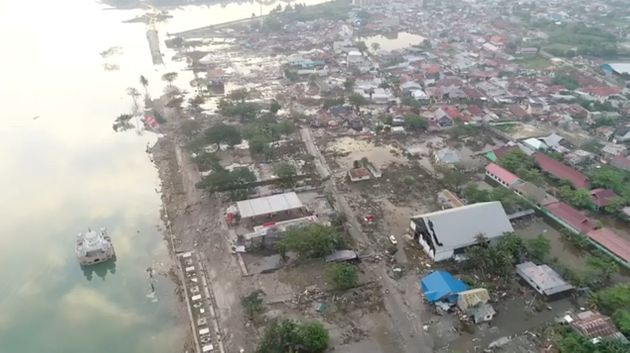 Ινδονησία: Το μέγεθος της καταστροφής από video