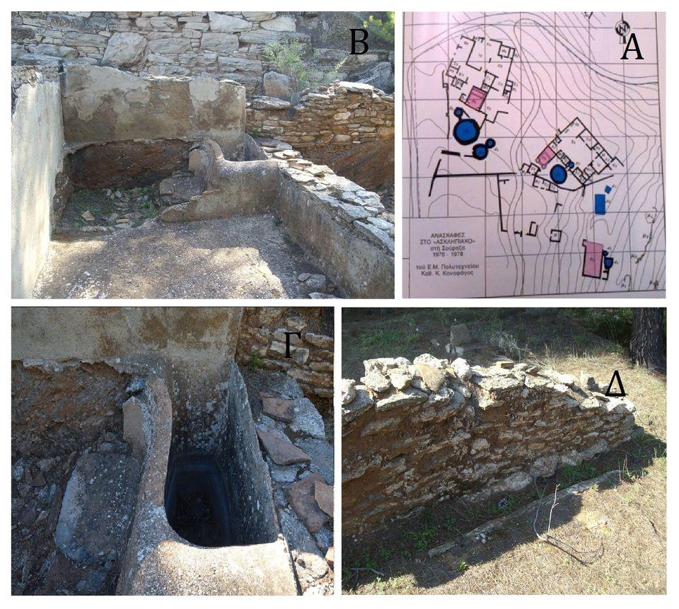"""Ανασκαφή στο """"Ασκληπιακόν"""" Λαυρίου, του ΕΜΠ με επίβλεψη και εκτέλεση από την Εφορία Αρχαιοτήτων Αττικής,..."""