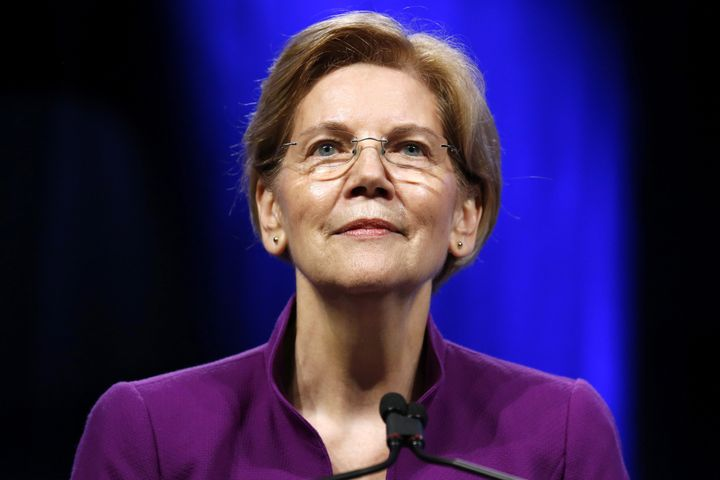 Senator Elizabeth Warren (D-Mass.) used a Saturday speech to constituents to publicly declare her interest in seeking the Whi