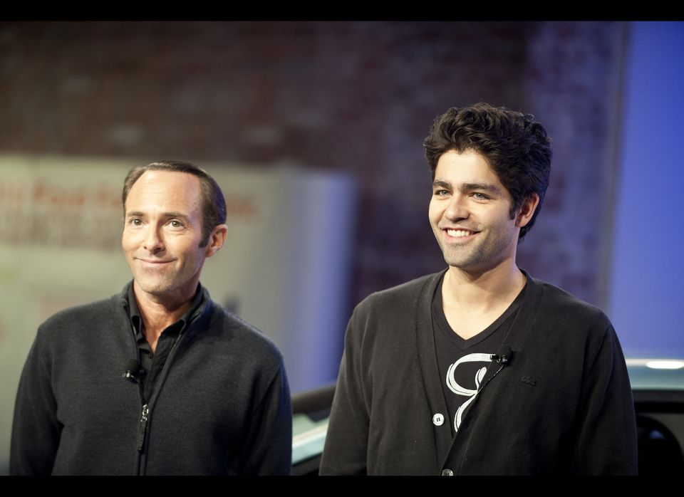 Ford introduces their new electric car with the help of actor Adrian Grenier and Ford's Director of Electrification Programs