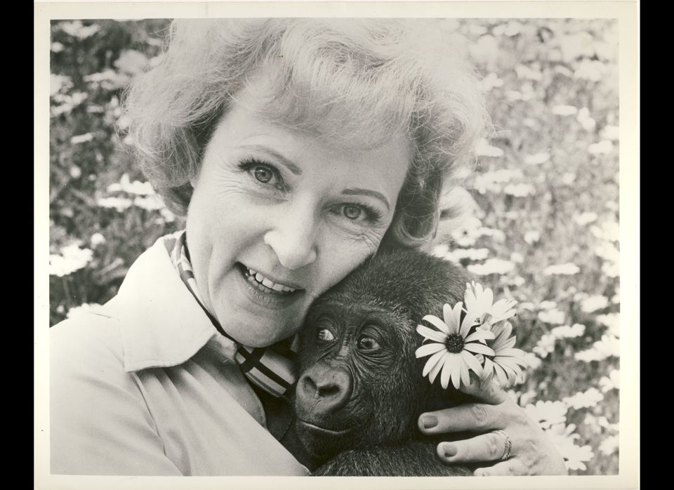 """Years ago I made friends with a very special little girl, Lina."" -Betty White  <em>Courtesy of the Betty White Private Colle"