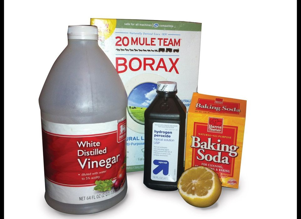 Many popular household cleaners can hide toxic chemicals in their list of ingredients. Those ingredients stay behind when you
