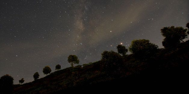 The Milky Way seen in the stary night at Puncak, Bogor, West Java, on 7 May 2016. On 5th to 8th May Arround the world experie