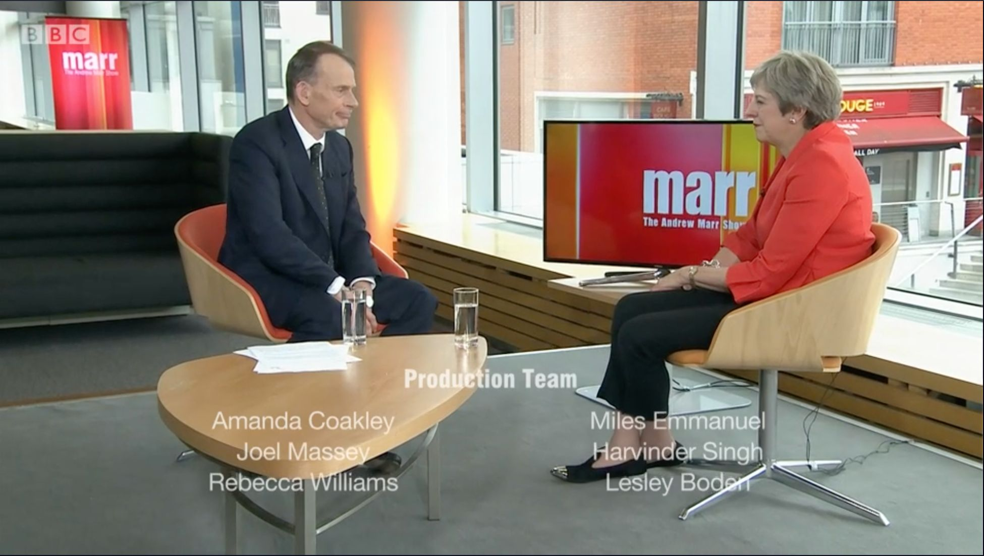 Watch Theresa May Death Stare Andrew Marr During Insanely Awkward Closing
