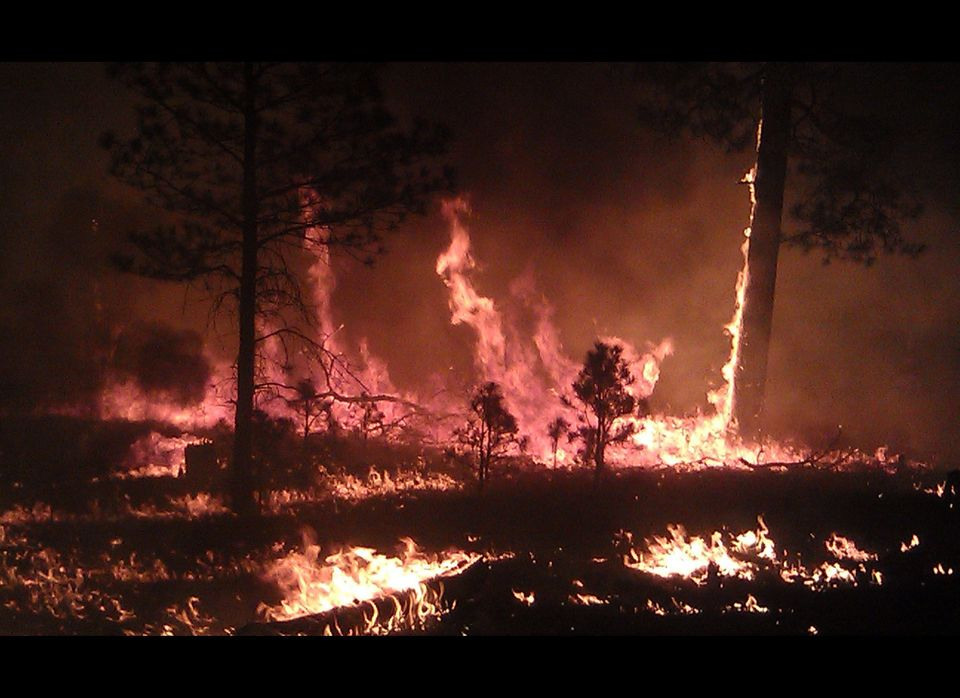 This image provided by the U.S. Forest Service shows a May 29, 2012 photo, of the massive blaze in the Gila National Forest i