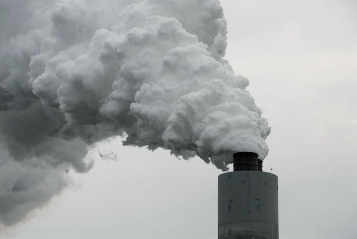 coal fired plant emission
