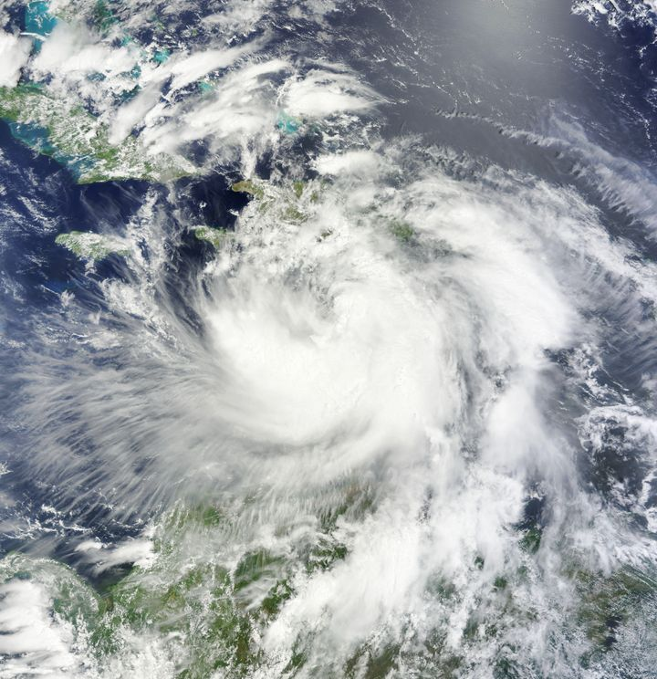 Description 1 Tropical Storm Isaac on August 24, 2012 | Source http:// ... Category:Hurricane Isaac (2012)Category:250m-resol