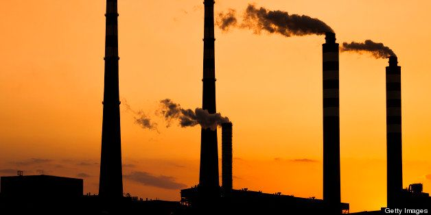 Power plant at sunsett, adobe rgb 1998 use...........
