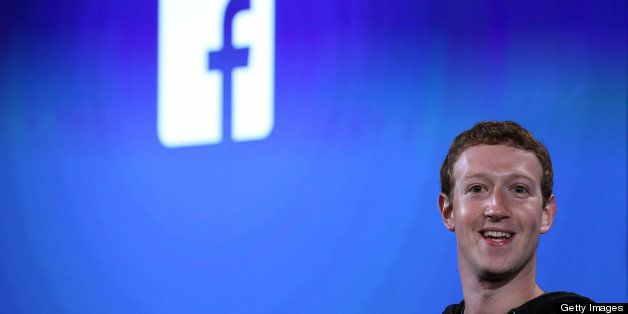 MENLO PARK, CA - APRIL 04:  Facebook CEO Mark Zuckerberg speaks during an event at Facebook headquarters on April 4, 2013 in