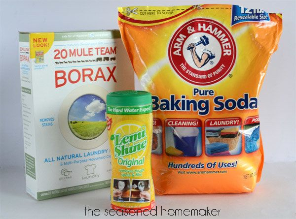 "You will never have to buy commercial dishwasher detergent if you make this recipe, shared on Hometalk.com by <a href=""http:/"