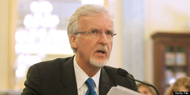 WASHINGTON, DC - JUNE 11:  Explorer and filmmaker James Cameron testifies at the Senate Commerce, Science & Transportation Co