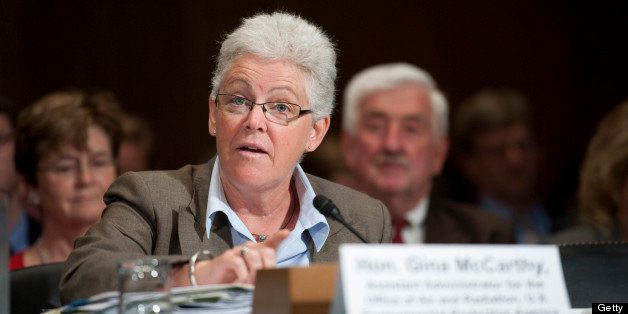 WASHINGTON, DC - June 30: Gina McCarthy, assistant administrator for the Office of Air and Radiation at the EPA, during the S