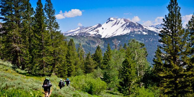 The Pacific Crest Trail commonly referred to as the PCT, and occasionally designated as the Pacific Crest National Scenic Tra
