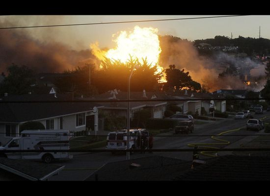 San Bruno Explosion: Photos Of The Fire's Aftermath Paint A Bigger