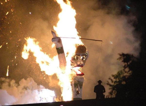 """Hosted by Santa Fe, N.M.'s, Kiwanis Club during the first weekend in September, the city engages in its annual burning of """"Ol"""