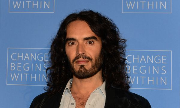 "After watching ""Forks Over Knives,"" a documentary on rejecting processed food to control common diseases, Russell Brand conve"