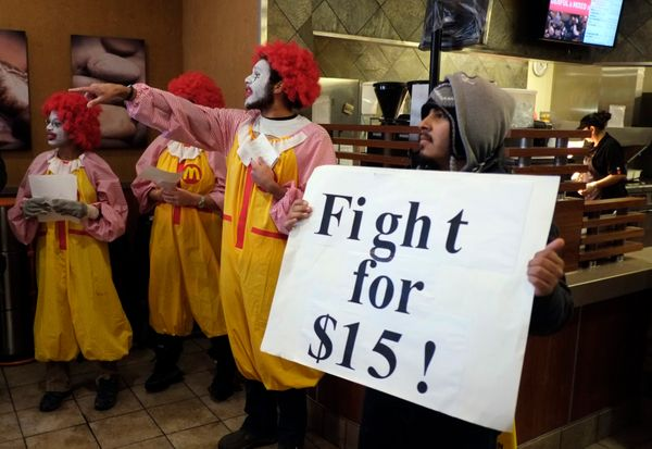 """On December 5, thousands of fast food workers <a href=""""https://www.huffpost.com/entry/fast-food-workers_n_4389915"""" target=""""_b"""