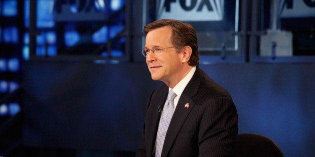 NEW YORK, NY - NOVEMBER 28:  David Asman hosts  FOX Business' 'Power and Money with David Asman' at FOX Studios on November 2
