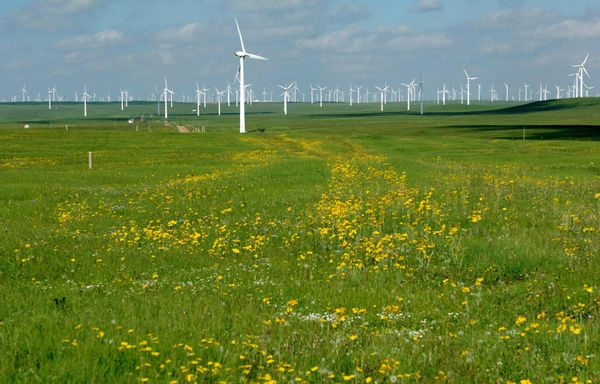 """China surged as the wind power leader in 2013, <a href=""""http://cleantechnica.com/2014/02/06/2013-wind-energy-installations-st"""
