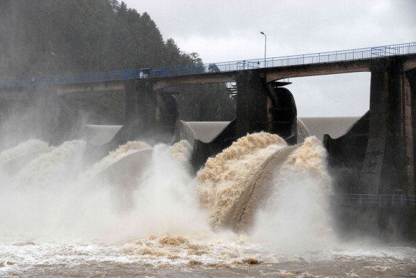 Many rivers ran over, due to the record-breaking heavy rainfall this week, which has negatively affected nearby houses and ag